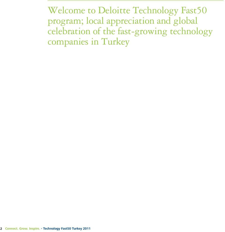 fast-growing technology companies in Turkey 2