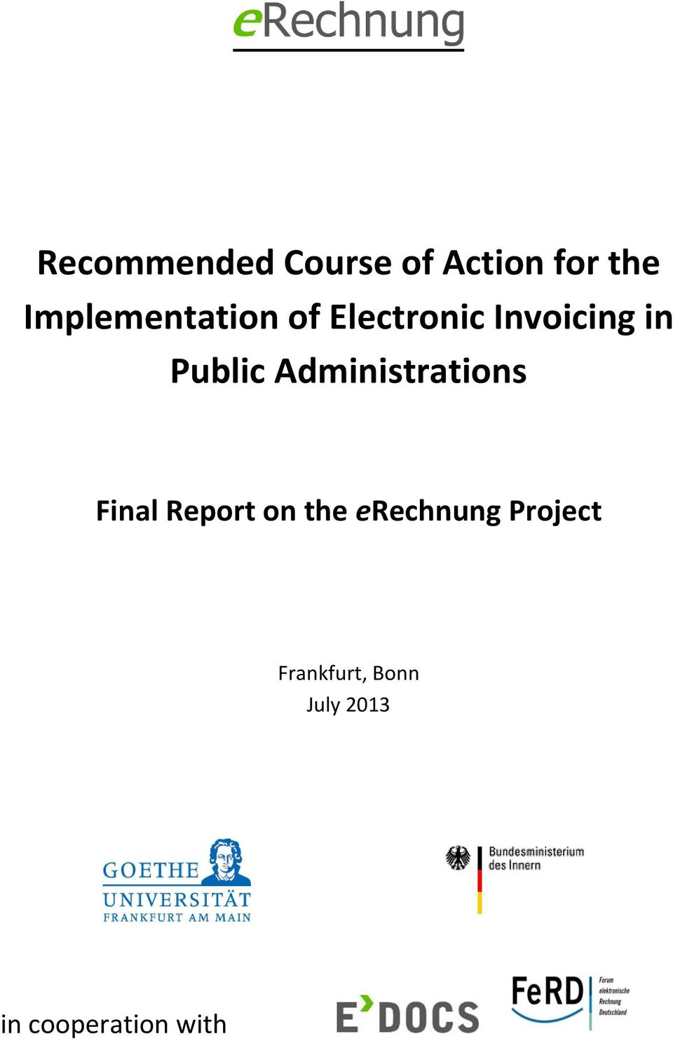 Public Administrations Final Report on the