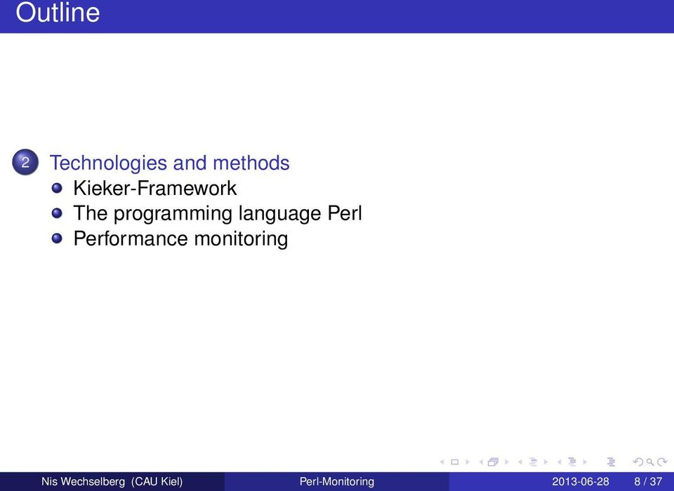 Perl Performance monitoring Nis
