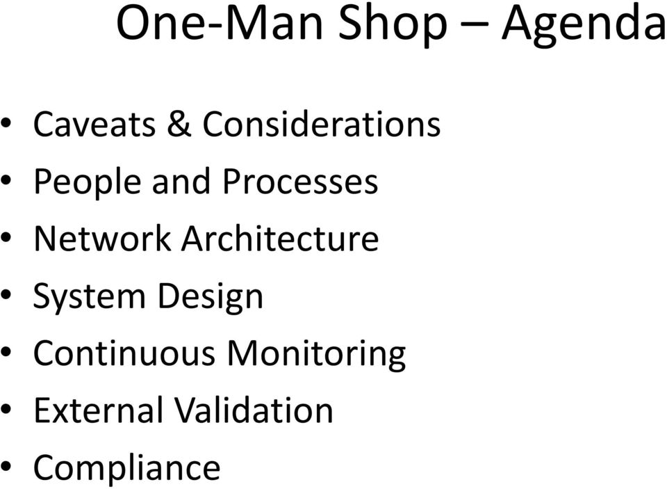 Network Architecture System Design