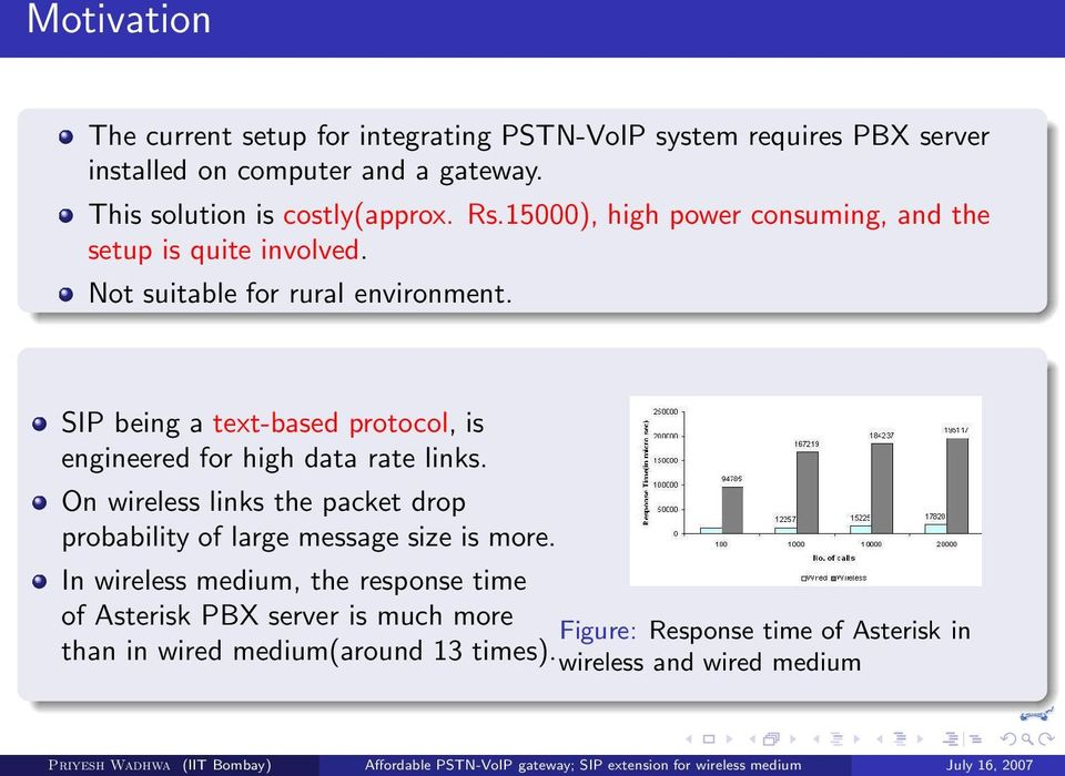 SIP being a text-based protocol, is engineered for high data rate links.