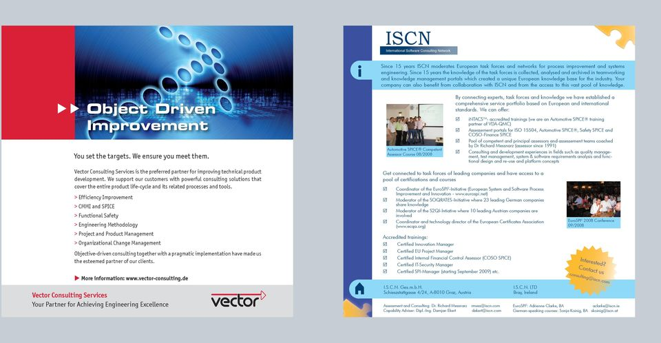 Your company can also benefit from collaboration with ISCN and from the access to this vast pool of knowledge.