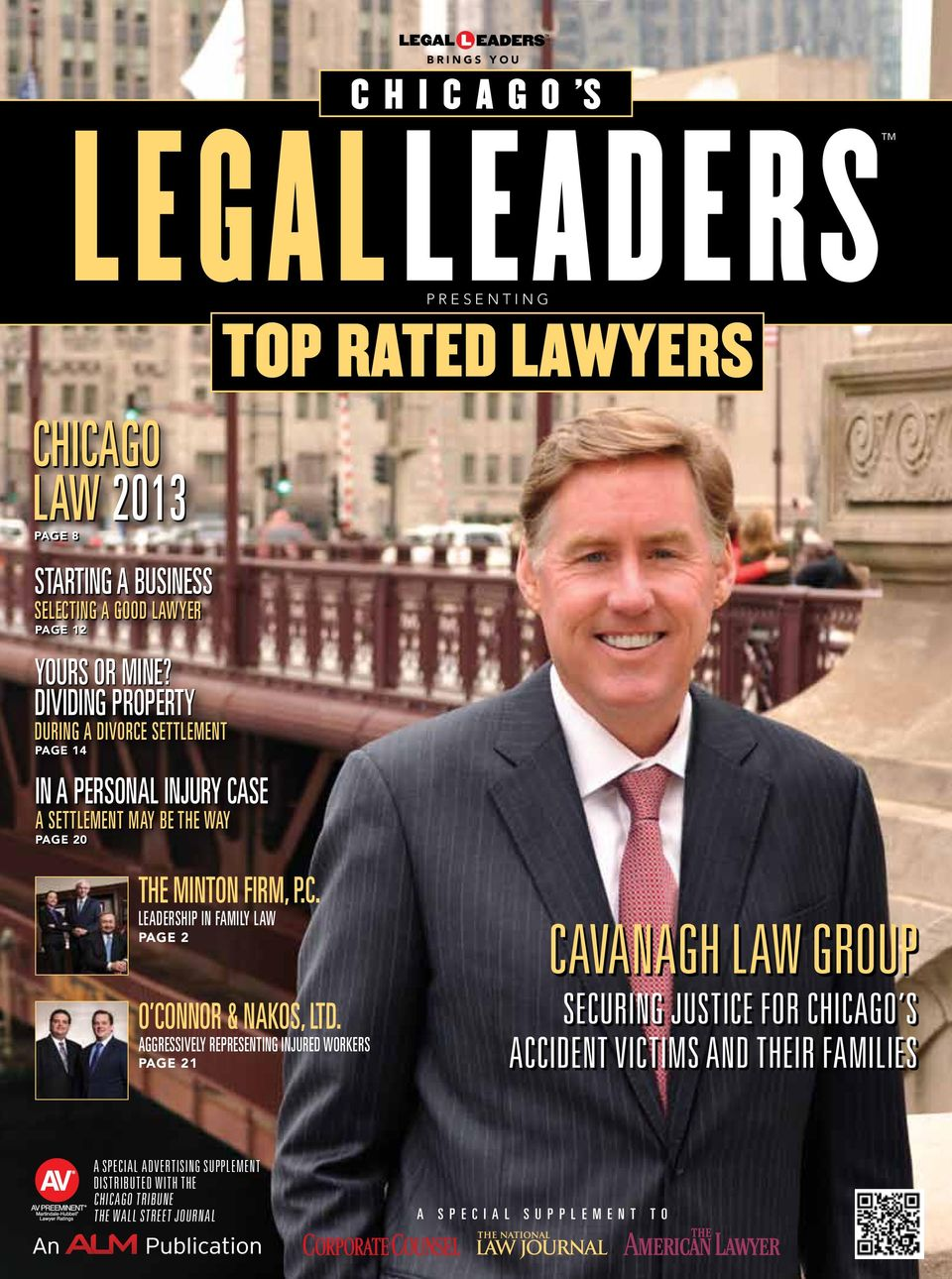 LAWYERS The minton firm, P.C. leadership in family law Page 2 O Connor & Nakos, Ltd.