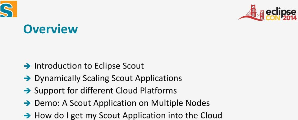 Cloud Platforms Demo: A Scout Application on