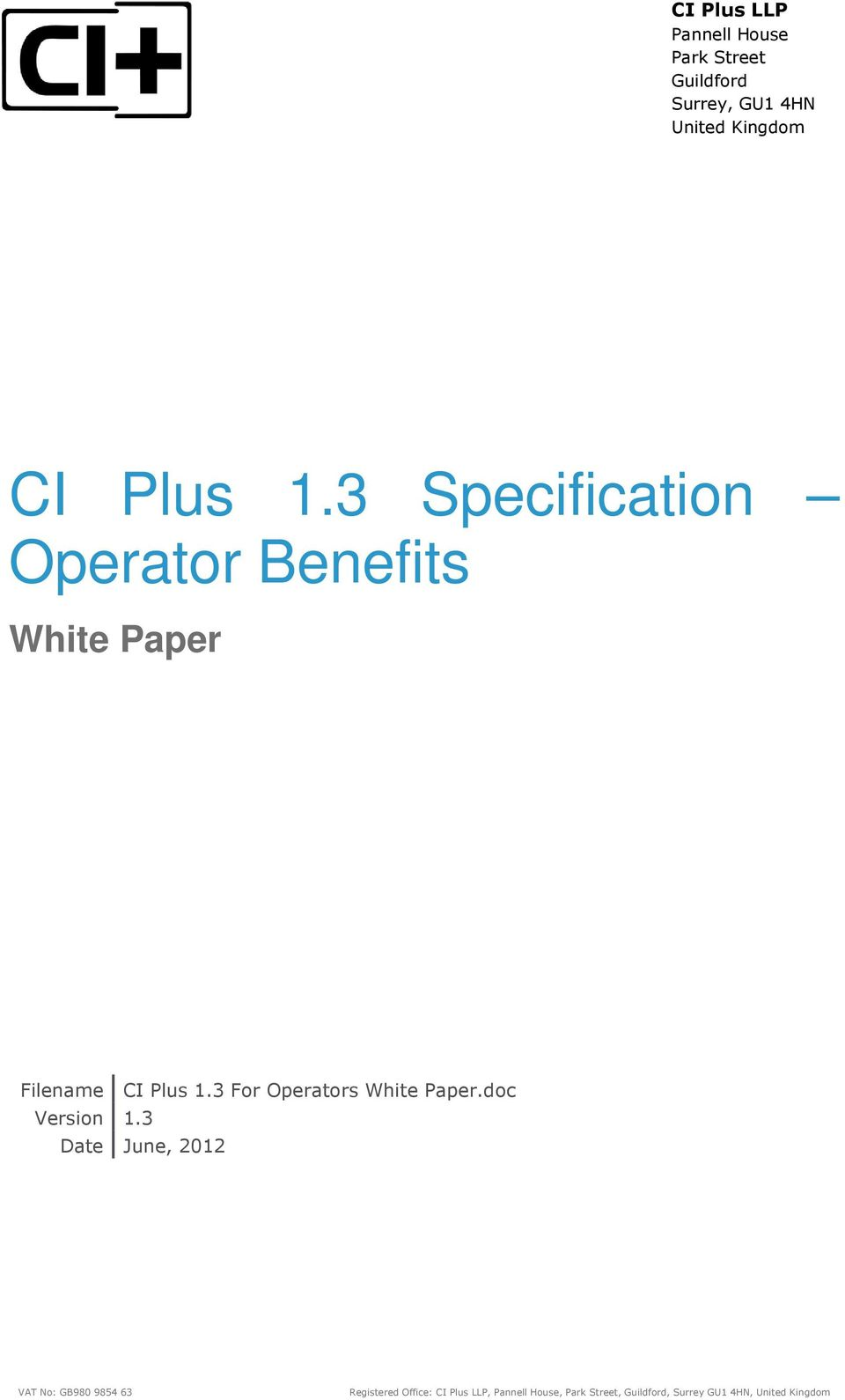 Filename 3 For Operators White Paper.