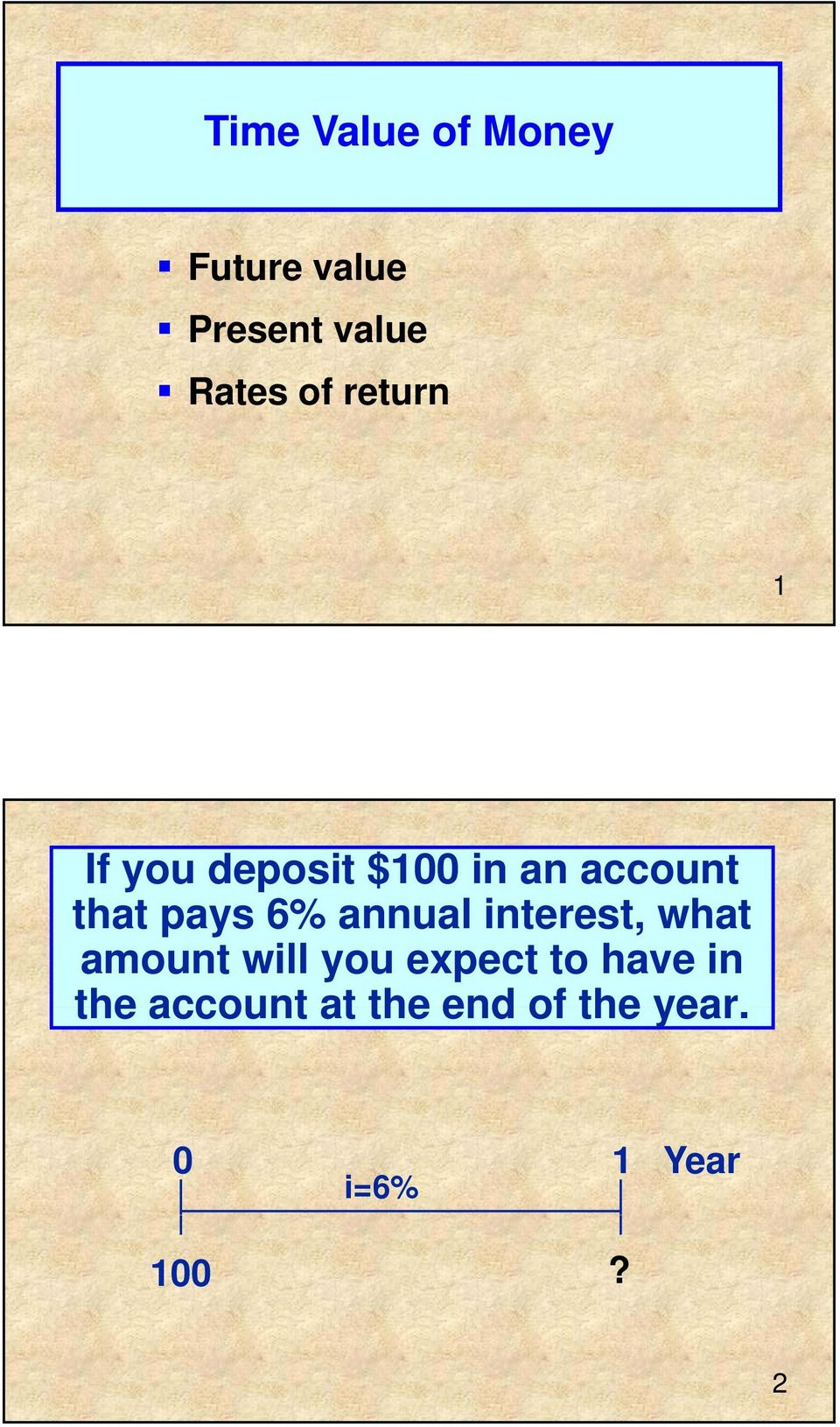 annual interest, what amount will you expect to have in