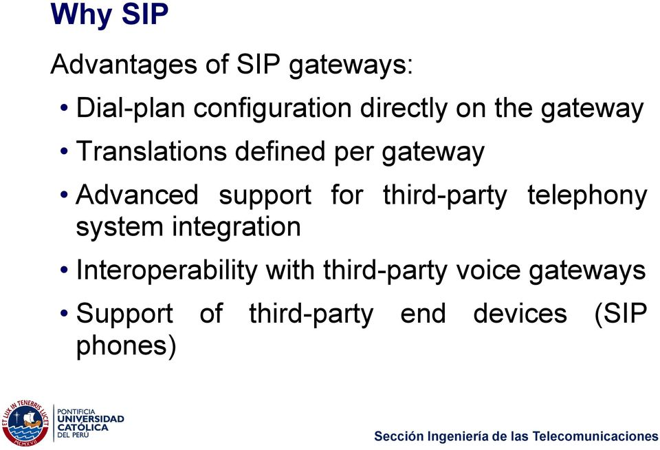 third-party telephony system integration Interoperability with