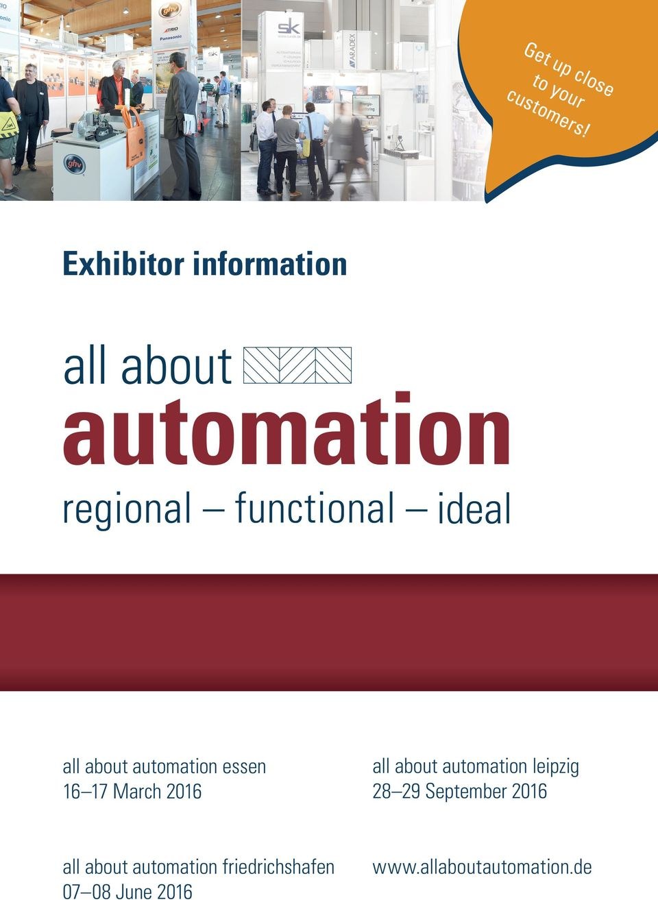 automation technology all about automation essen 16 17 March 2016 all about