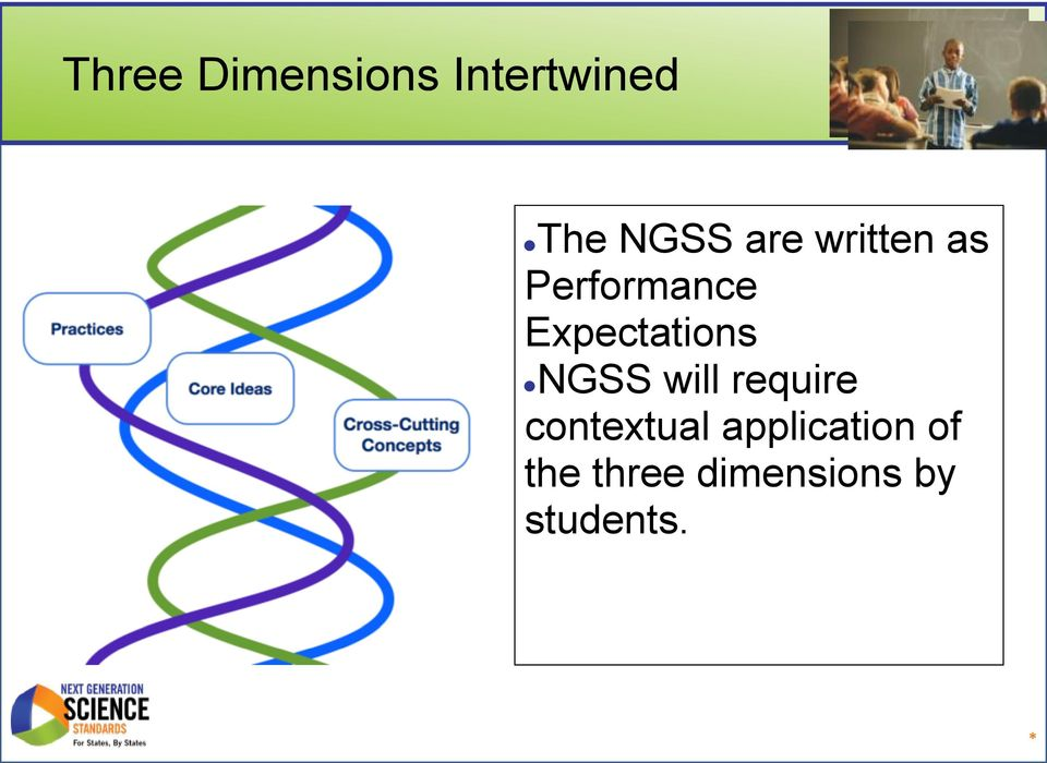 NGSS will require contextual