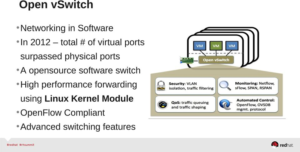 software switch High performance forwarding using Linux