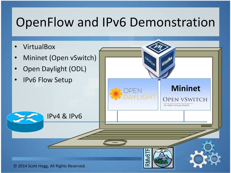 Mininet(Open vswitch) Open