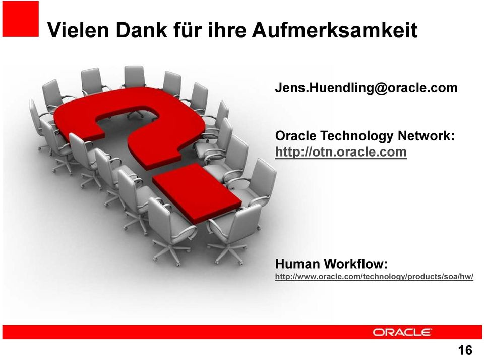 com Oracle Technology Network: http://otn.