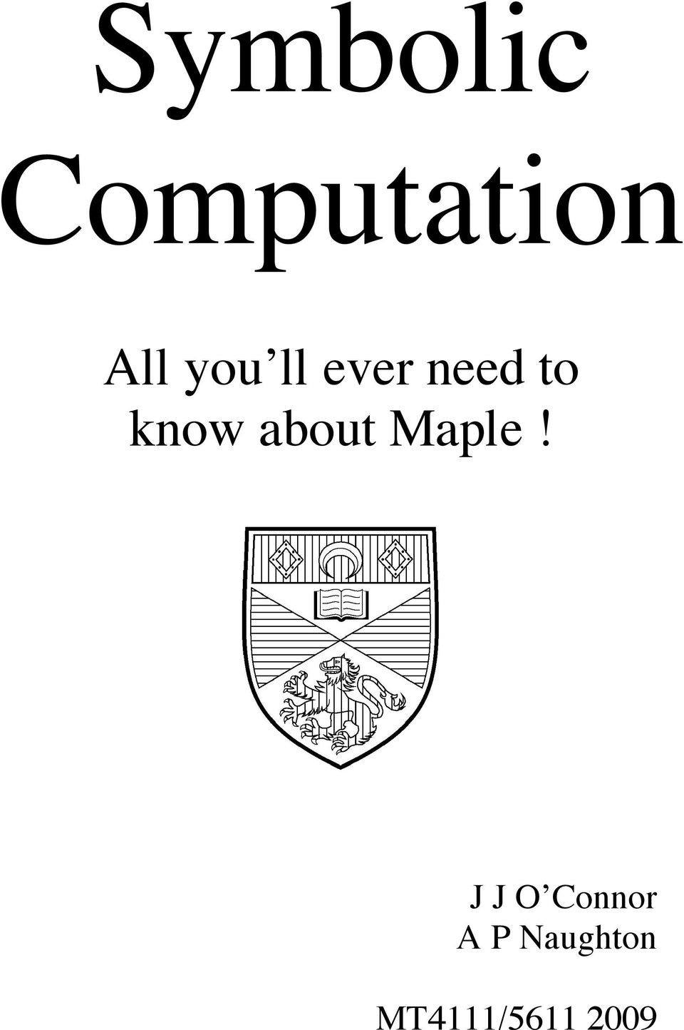 about Maple!