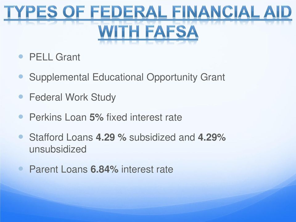 interest rate Stafford Loans 4.