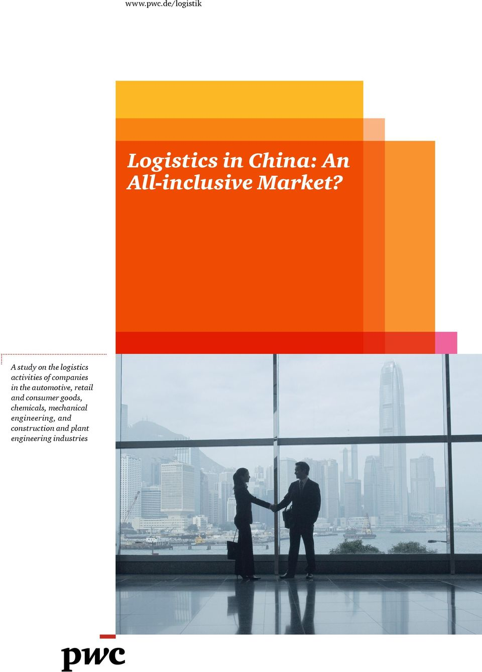 A study on the logistics activities of companies in the