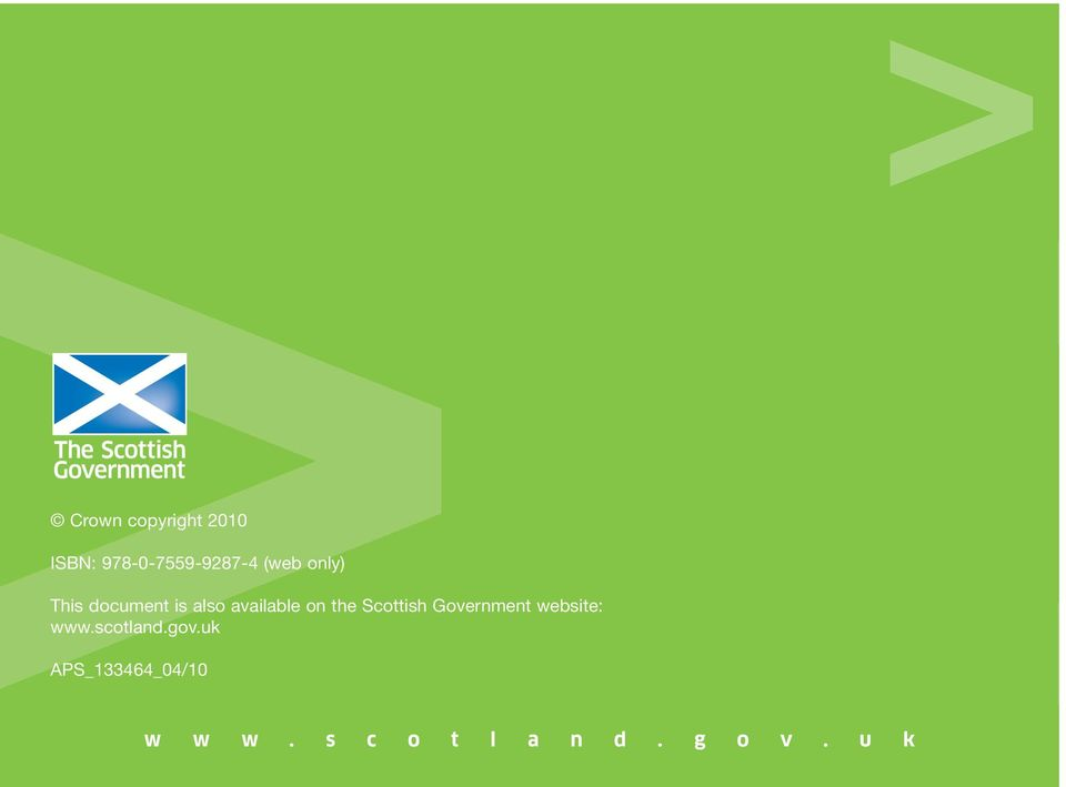 the Scottish Government website: www.scotland.