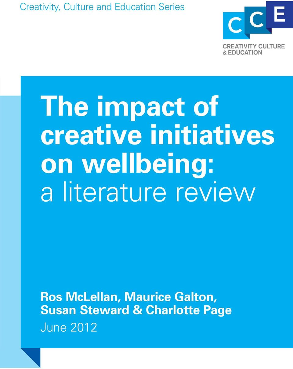 a literature review Ros McLellan, Maurice