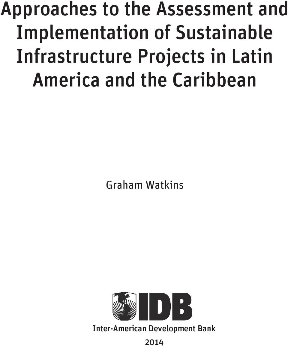 Infrastructure Projects in Latin America