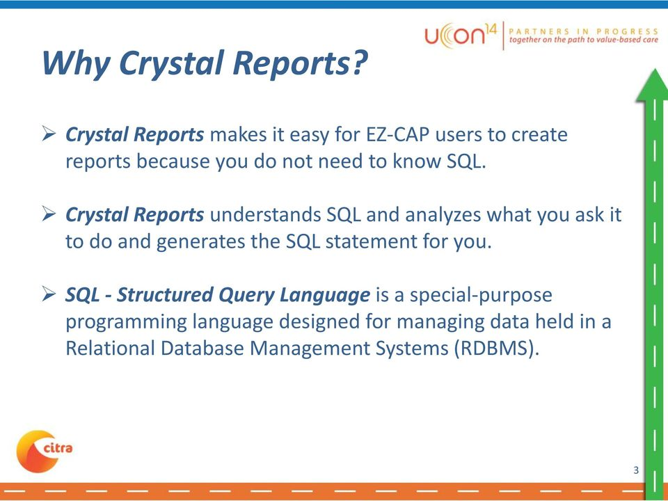 how to create crystal report using sql query