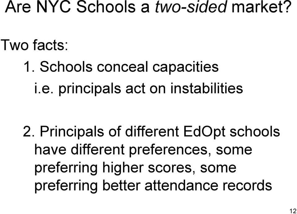 Principals of different EdOpt schools have different