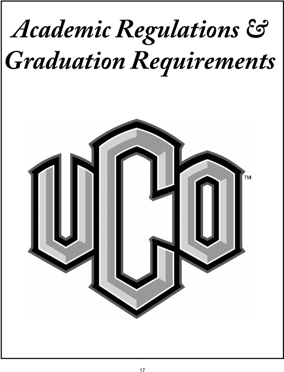 Regulations & Graduation