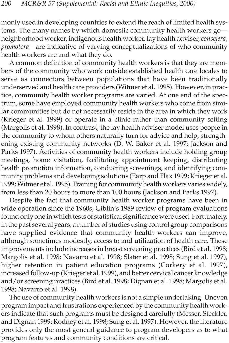 who community health workers are and what they do.