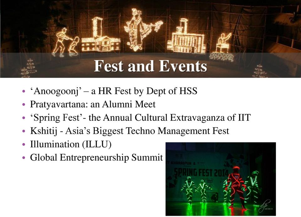 Cultural Extravaganza of IIT Kshitij - Asia s Biggest