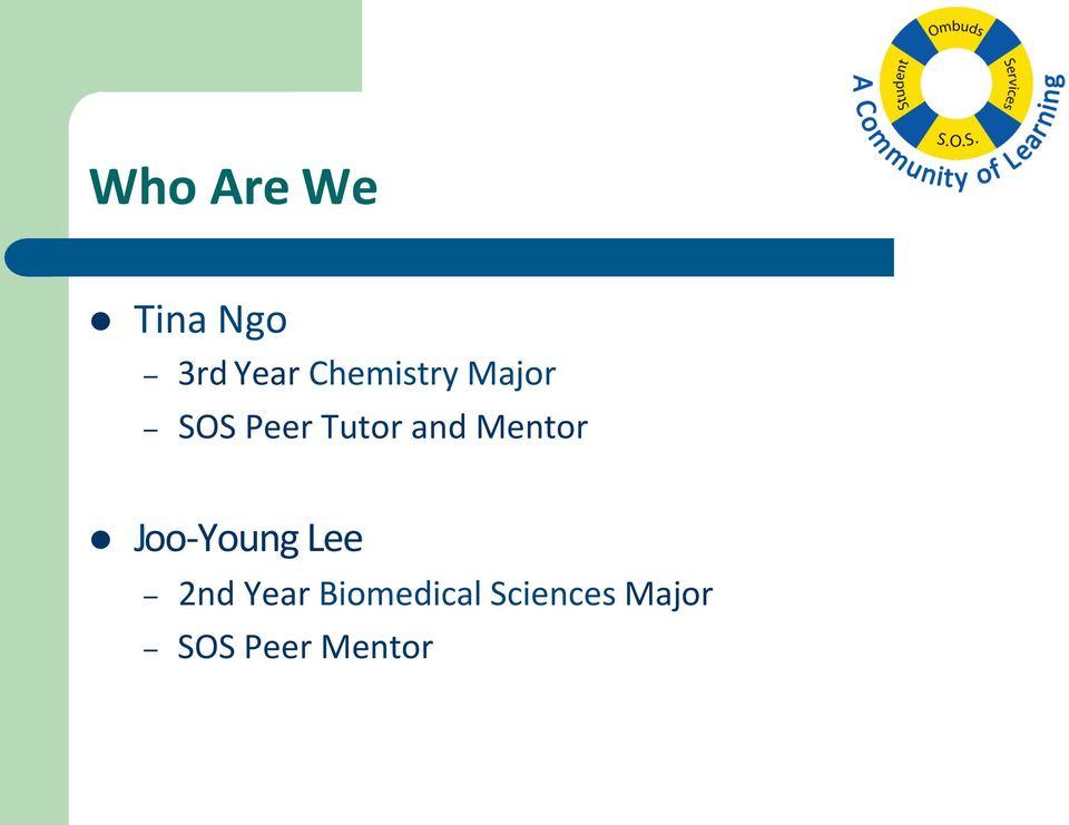 Mentor l Joo-Young Lee 2nd Year