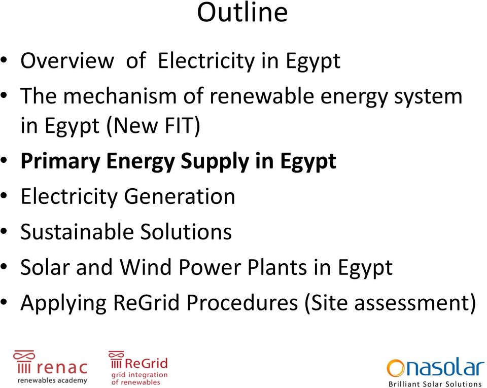 in Egypt Electricity Generation Sustainable Solutions Solar and