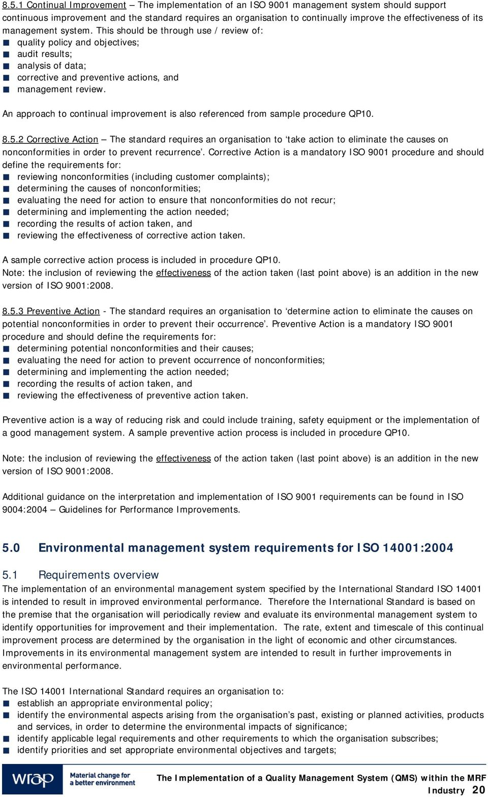 iso 9001 2015 quality manual doc