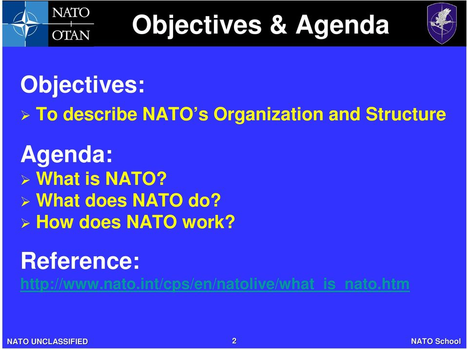 What does NATO do? How does NATO work?