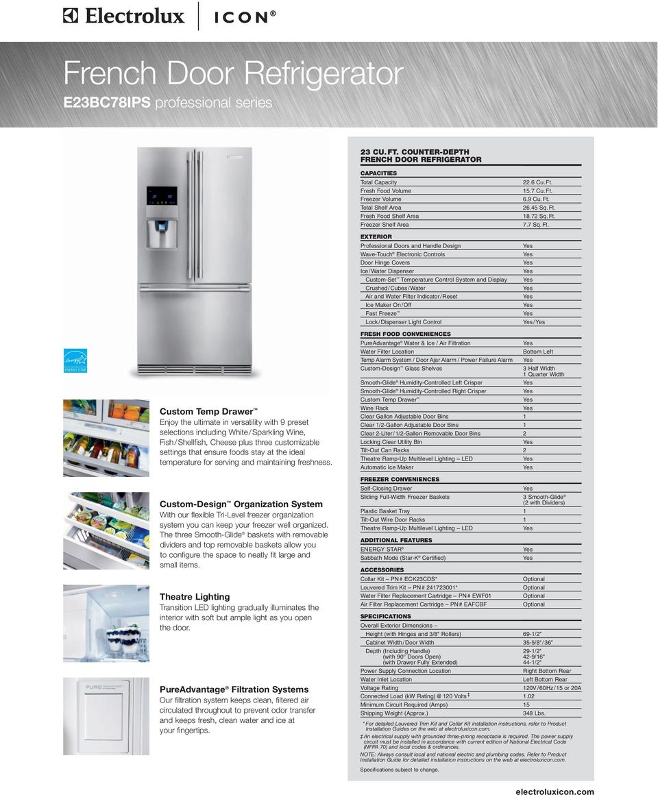 settings that ensure foods stay at the ideal temperature for serving and maintaining freshness.