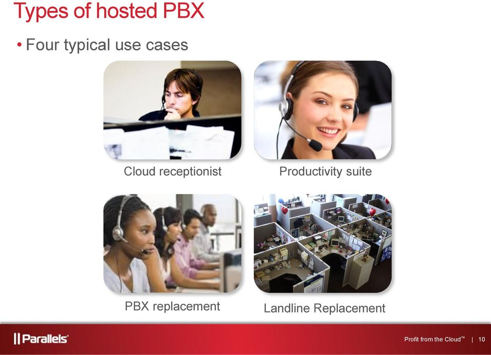 Productivity suite PBX replacement