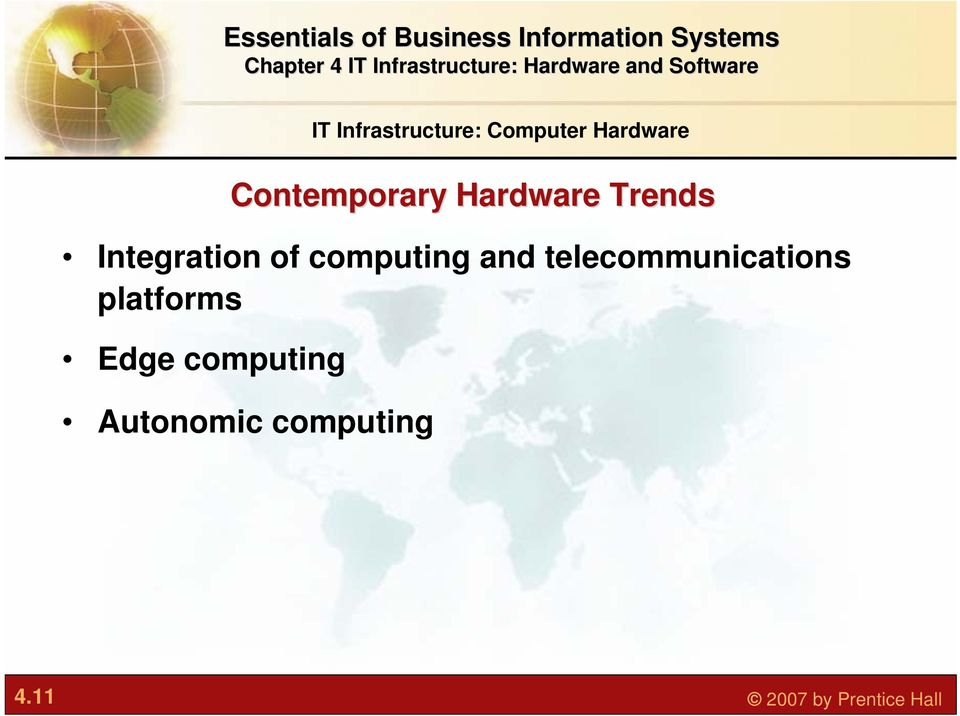 computing and telecommunications platforms