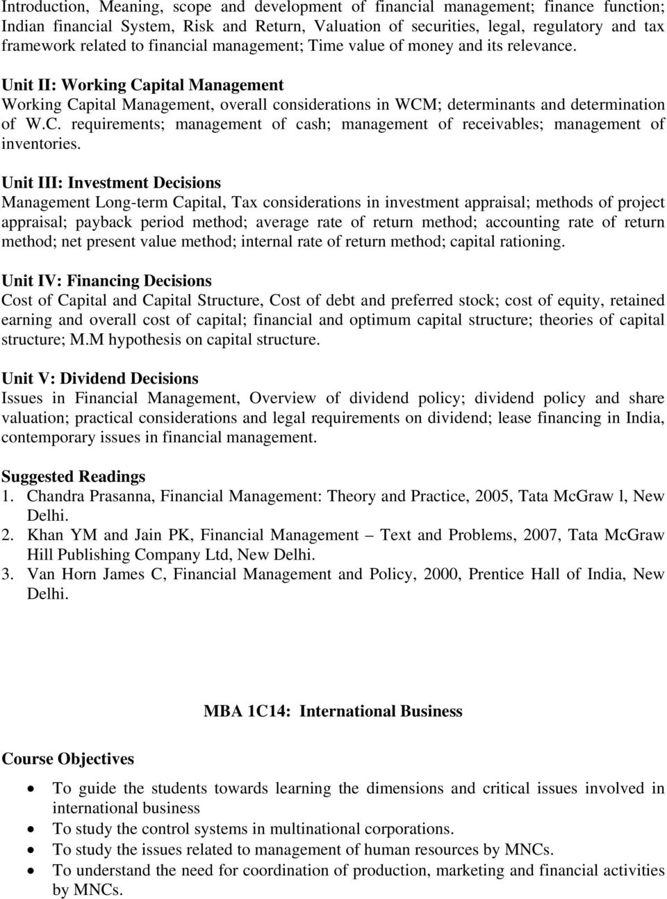 Unit III: Investment Decisions Management Long-term Capital, Tax considerations in investment appraisal; methods of project appraisal; payback period method; average rate of return method; accounting