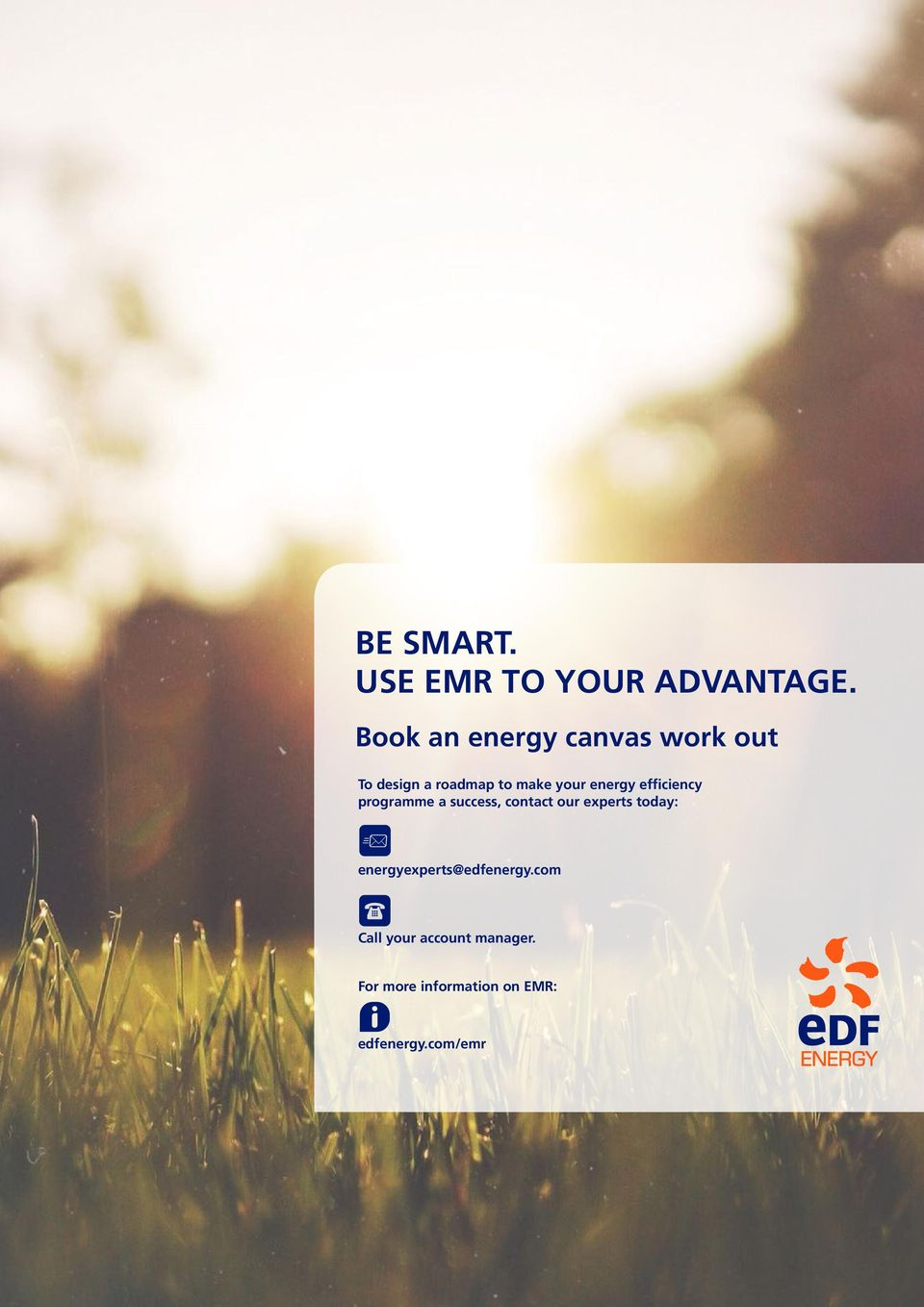 energy efficiency programme a success, contact our experts today: