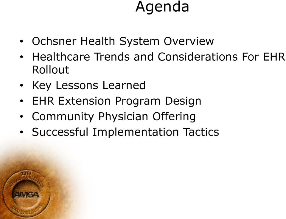 Lessons Learned EHR Extension Program Design