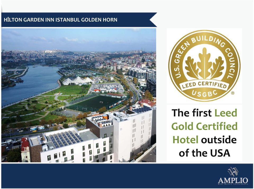 The first Leed Gold