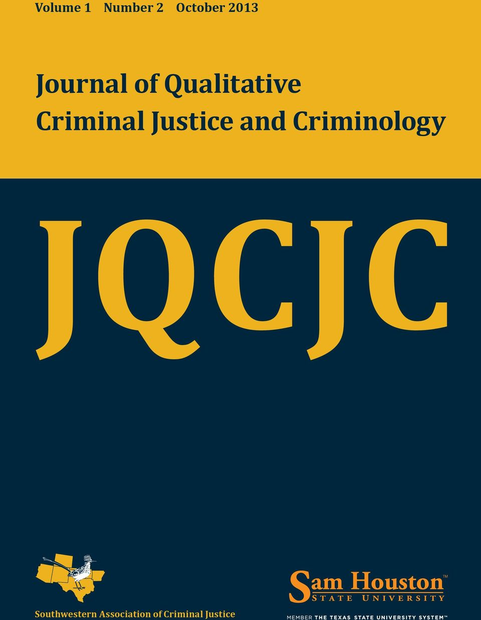 Justice and Criminology JQCJC