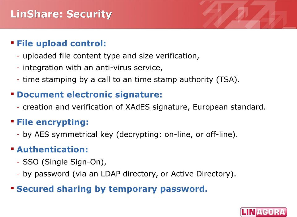 Document electronic signature: - creation and verification of XAdES signature, European standard.