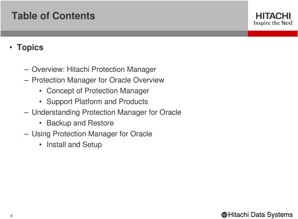 Support Platform and Products Understanding Protection Manager for