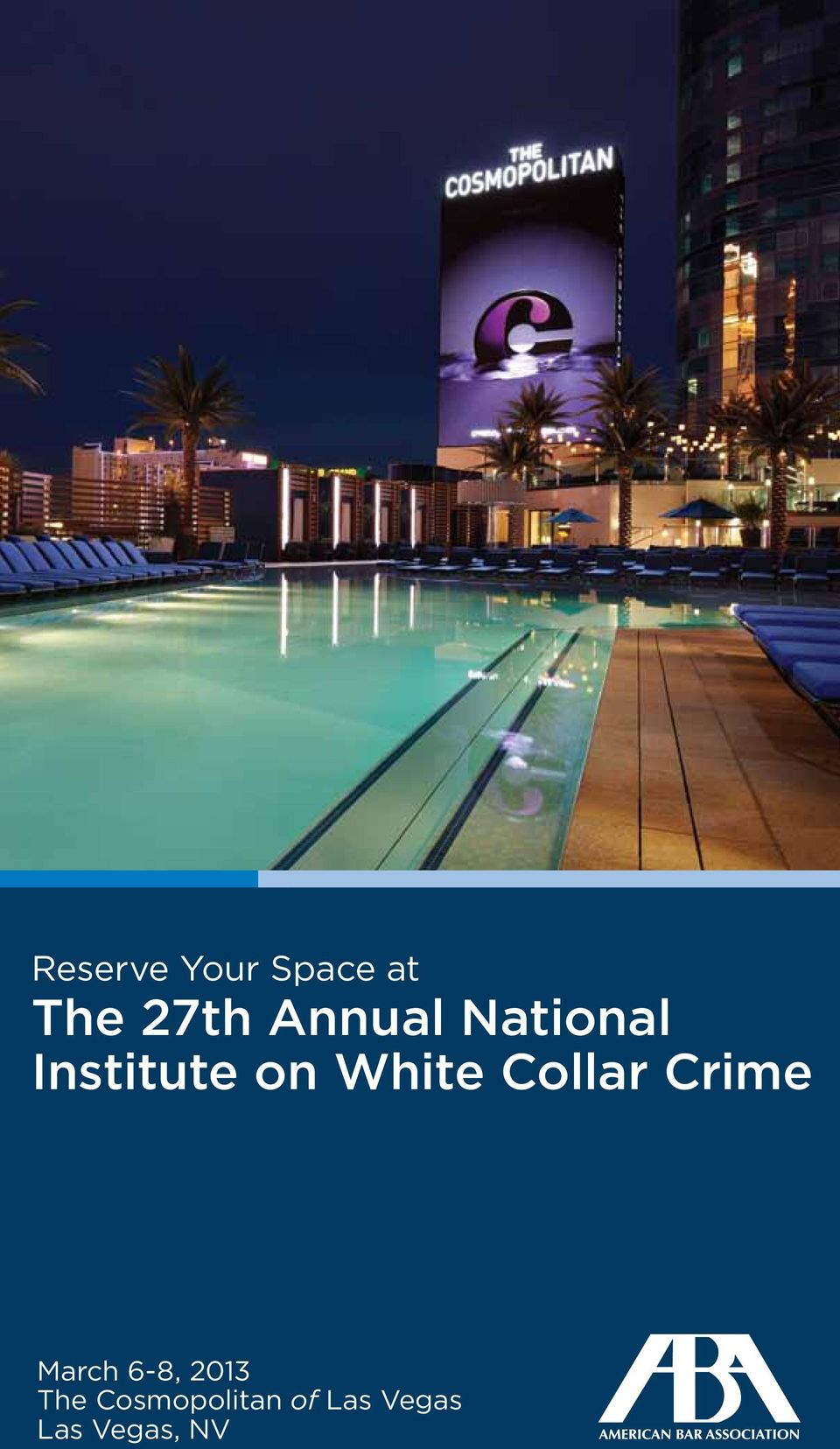 Collar Crime March 6-8, 2013 The