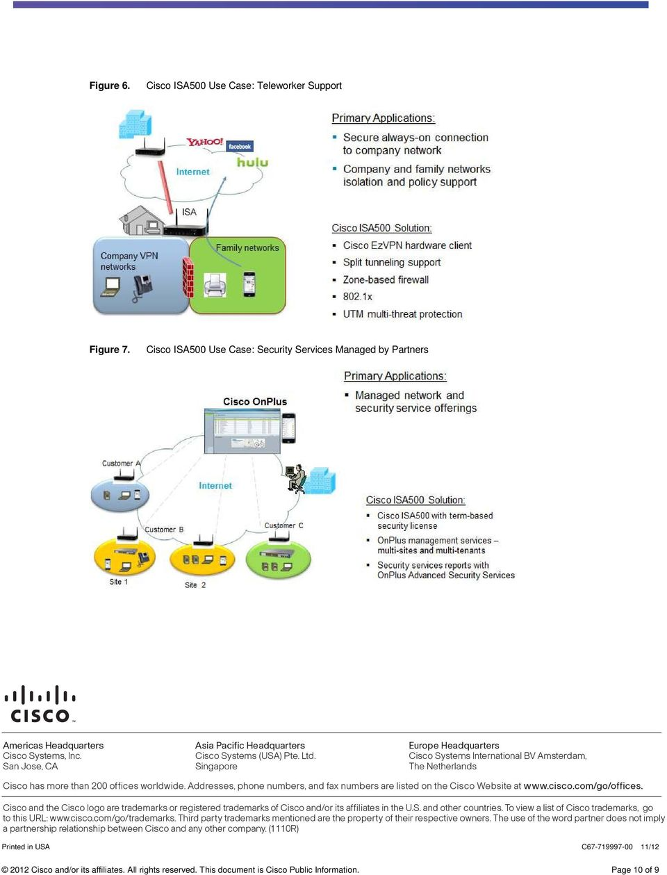 Printed in USA C67-719997-00 11/12 2012 Cisco and/or its