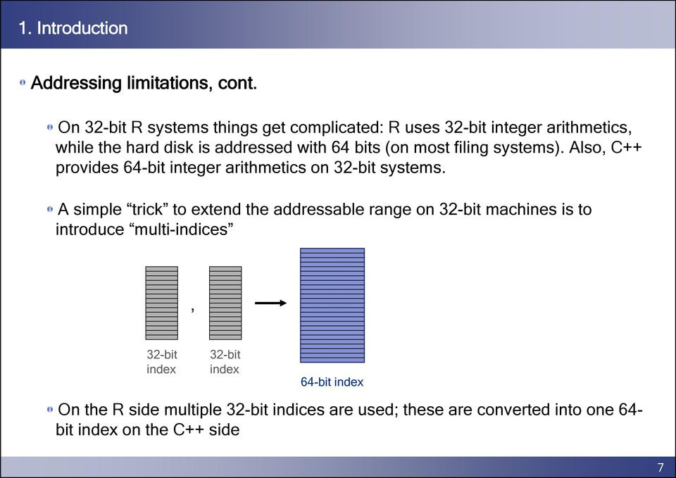 (on most filing systems). Also, C++ provides 64-bit integer arithmetics on 32-bit systems.