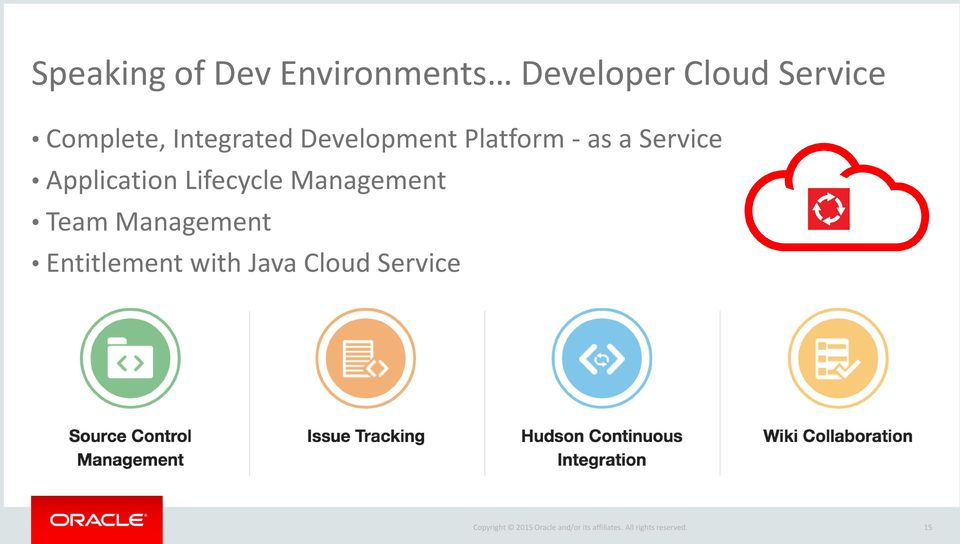 - as a Service Application Lifecycle Management