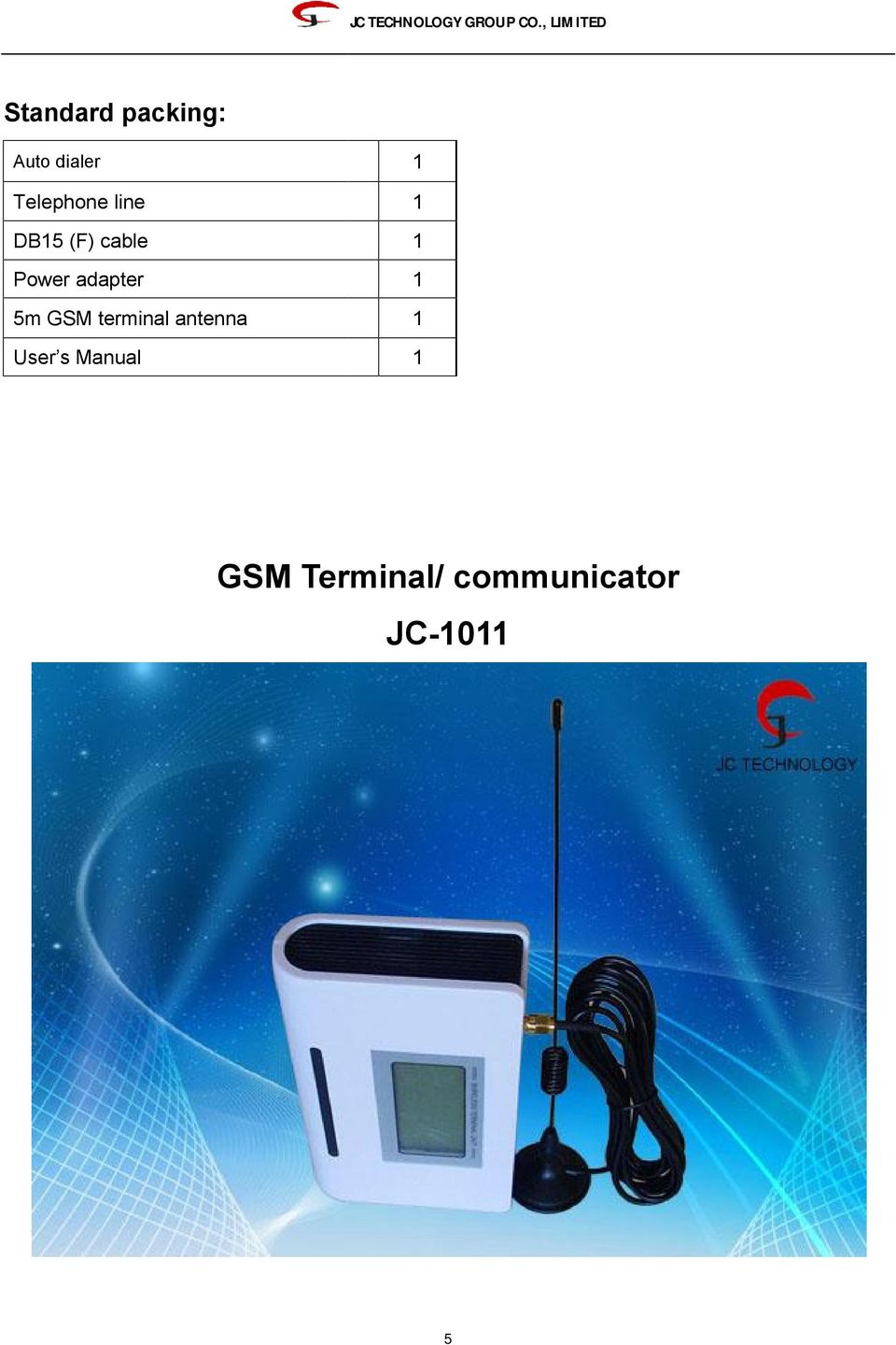 adapter 5m GSM terminal antenna