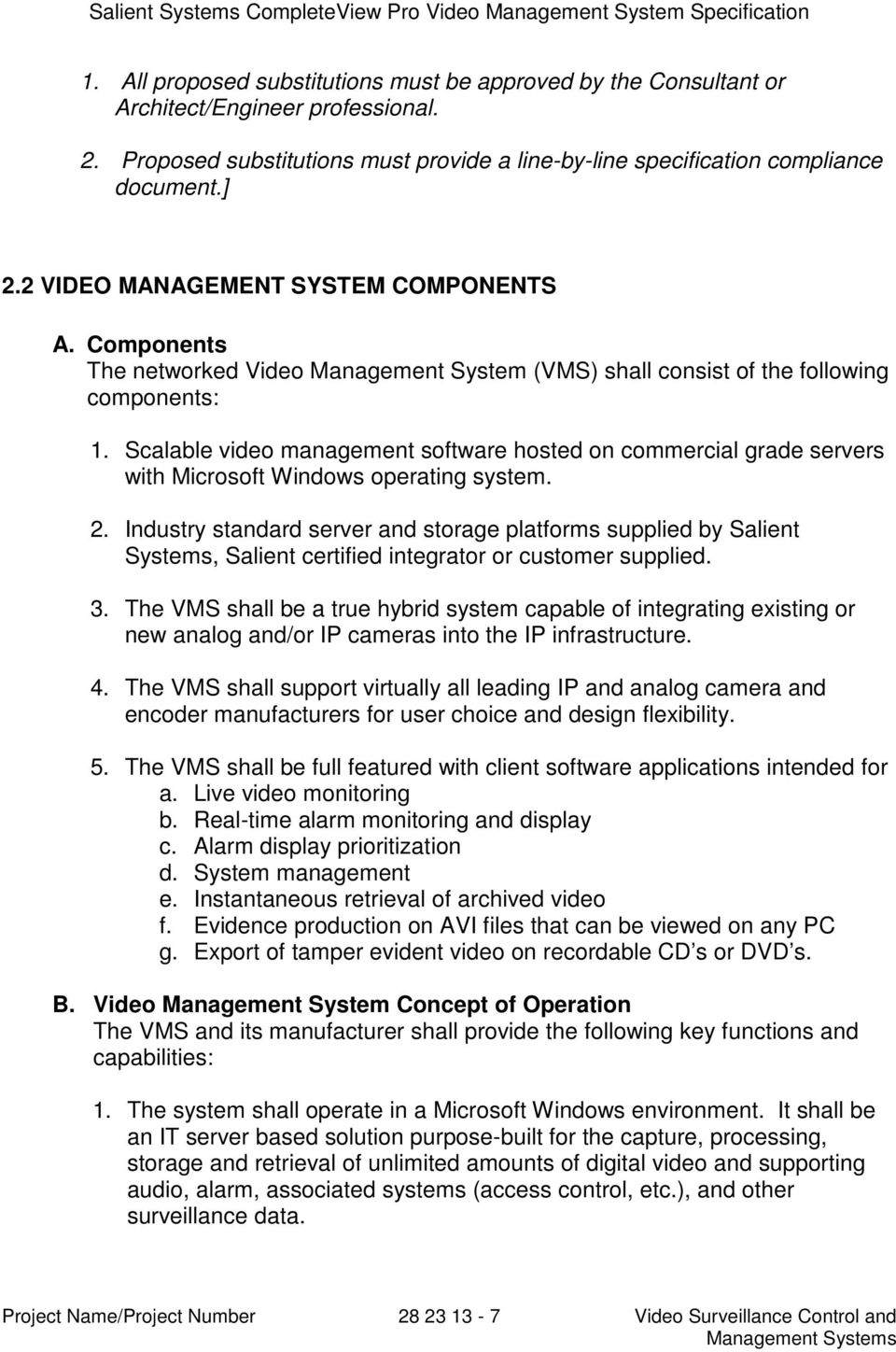 Completeview Pro Video Management System Pdf Network Diagram For Single Site Standard Quicktrac Setup Scalable Software Hosted On Commercial Grade Servers With Microsoft Windows Operating 2