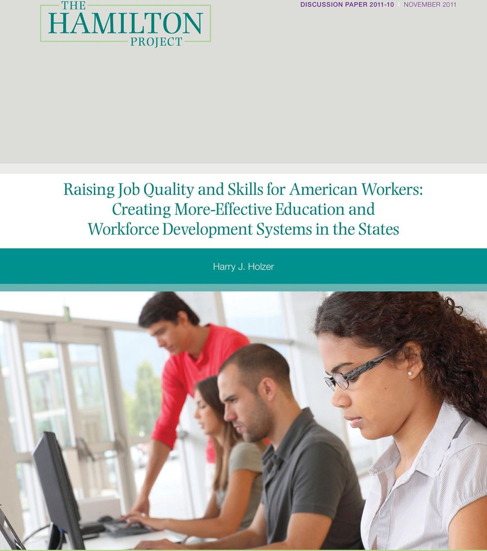Creating More-Effective Education and Workforce