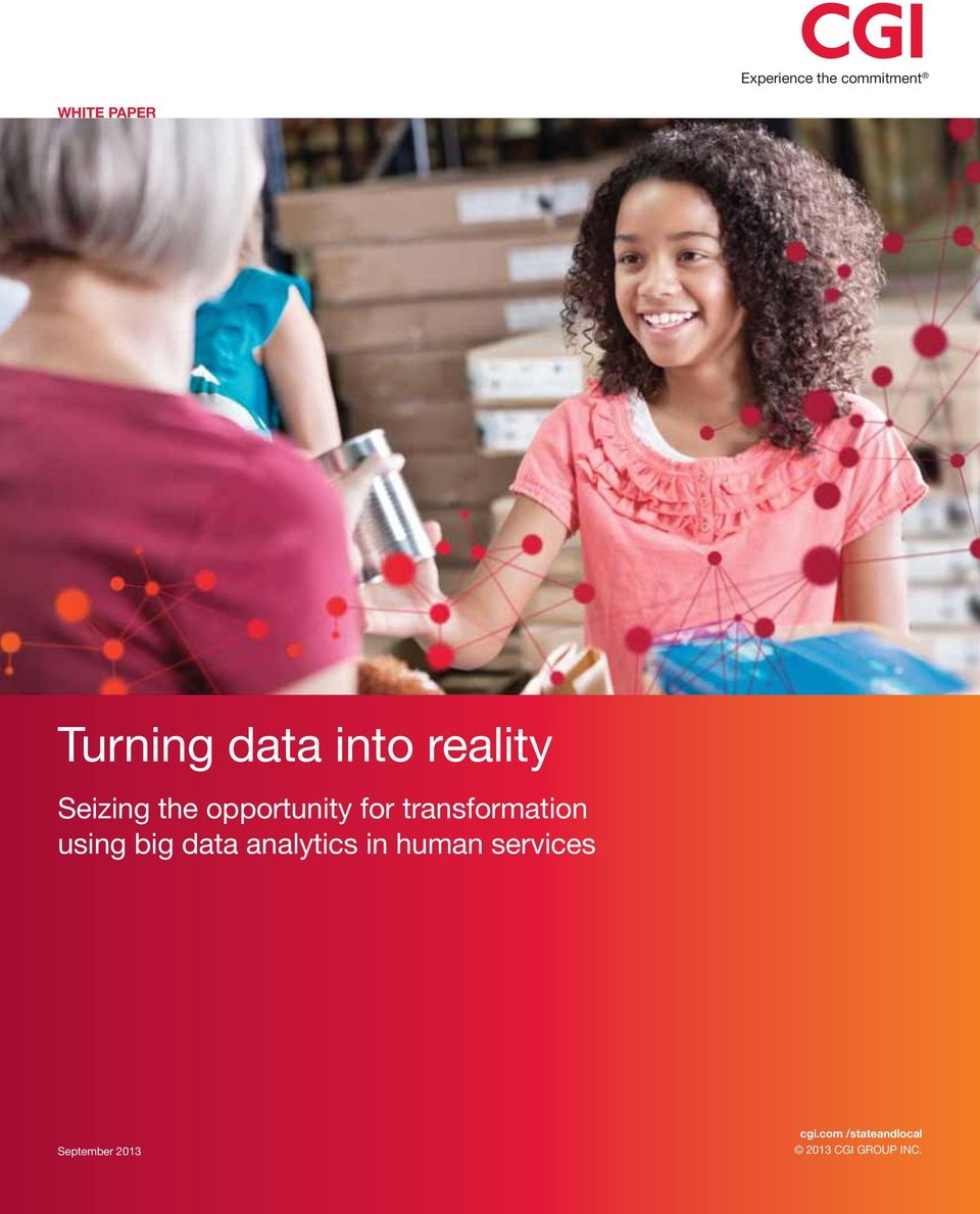 transformation using big data analytics in human