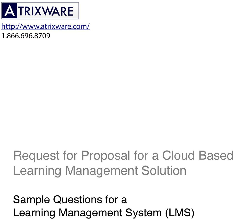 Based Learning Management Solution